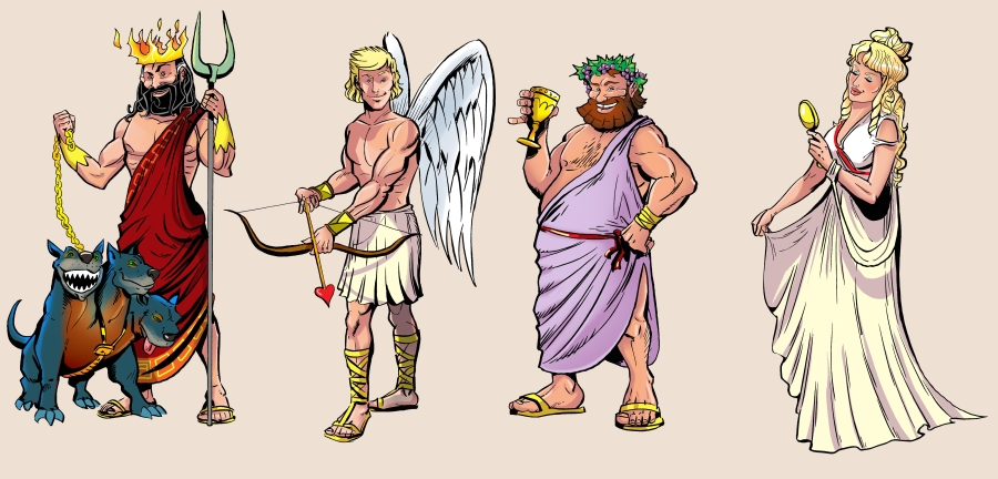 bogowie-hades-eros-dionizos-afrodyt